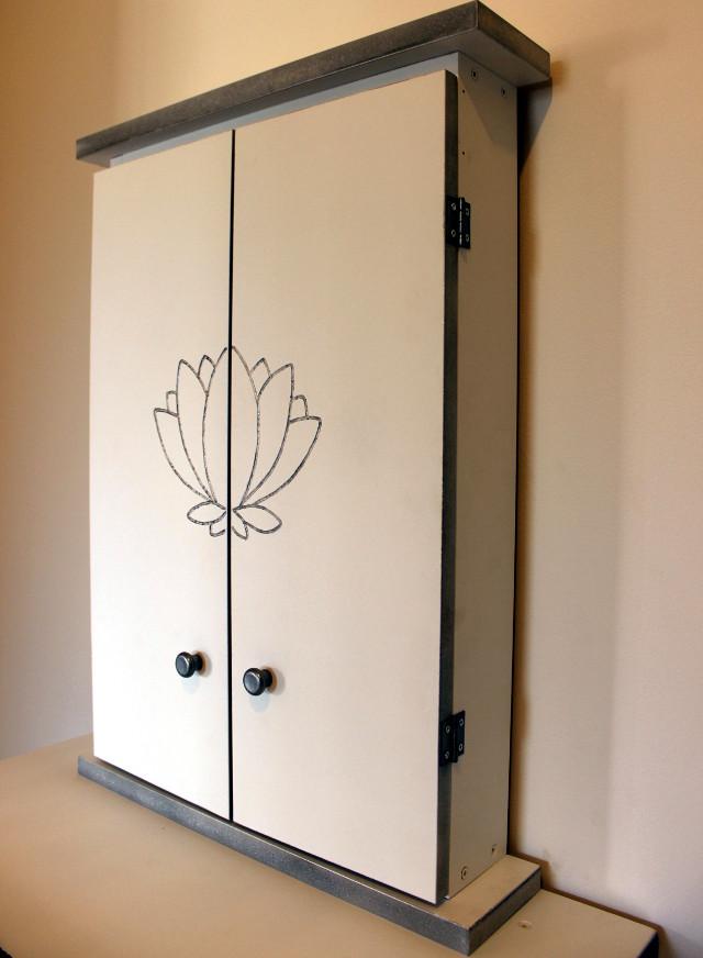 Butsudan serie lotus bianco argento la dimora del buddha - Mobile per butsudan ...