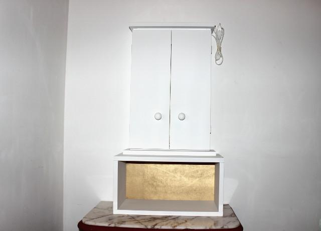 Butsudan basic bianco con rialzo la dimora del buddha - Mobile per butsudan ...